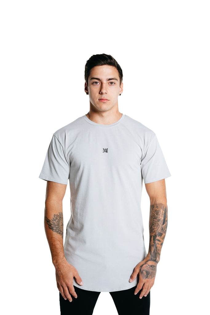 Manasse Men's NEW Basixx Tall Tee (Grey)