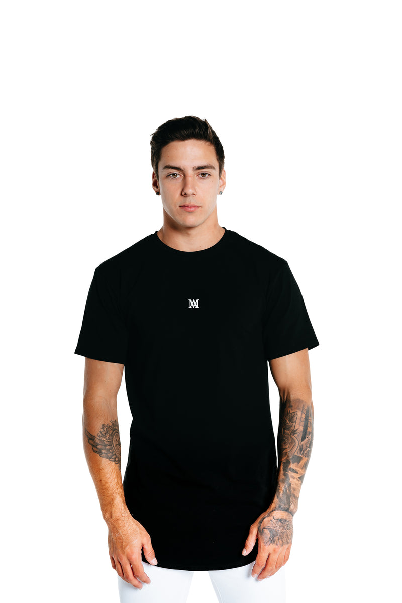 Manasse Men's NEW Basixx Tall Tee (Black)