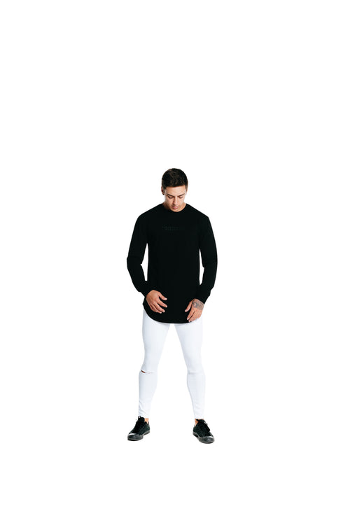 Manasse Men's Duplo Long Sleeve (Black)