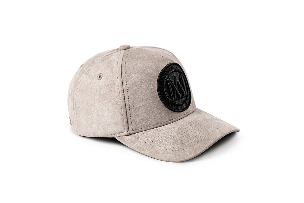 <strong>KIDS</strong> - Manasse Suede Embroidered A-Frame Snap Back (Grey)