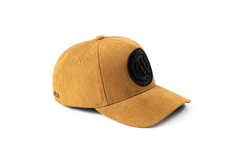 <strong>KIDS</strong> - Manasse Suede Embroidered A-Frame Snap Back (Beige)
