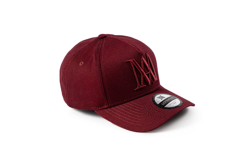 <strong>KIDS</strong> Manasse Embroidered A-Frame Snap Back (Burgundy)