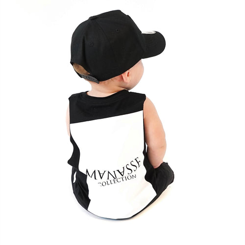 <strong>KIDS</strong> Manasse Basix Collection Cut Off Tee (Black)