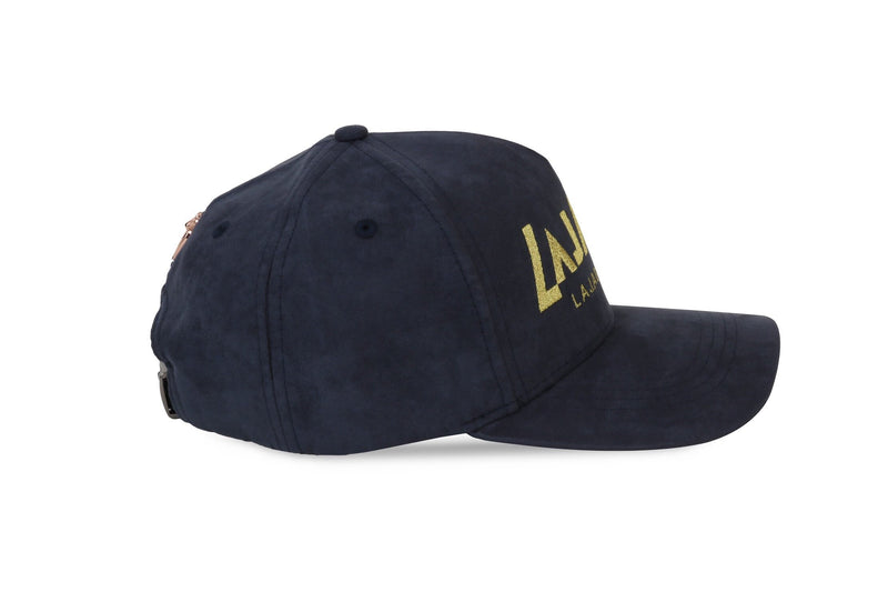 V-Suede Cap Midnight Blue