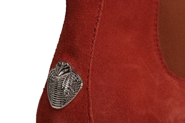 Red Maple Chelsea Boots with Cobra Logo