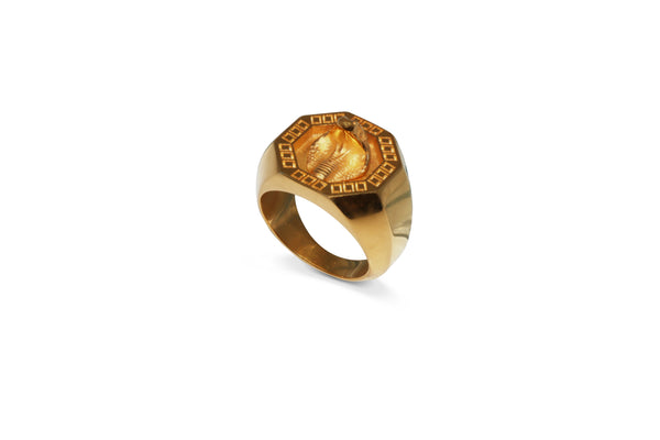 Cobra Signet Ring in Gold Ref. 89200