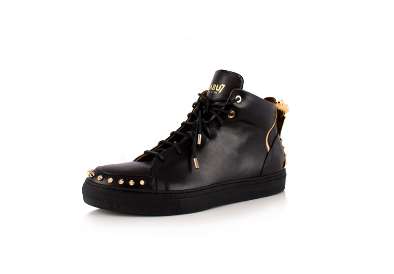 Black Cobra Statue High-Top Sneaker Edition Diamond Women