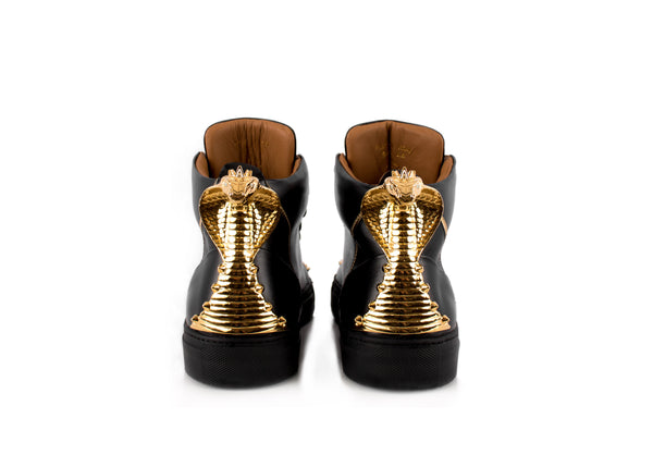 Black Cobra Statue High-Top Sneaker Edition Diamond Ref. 116998