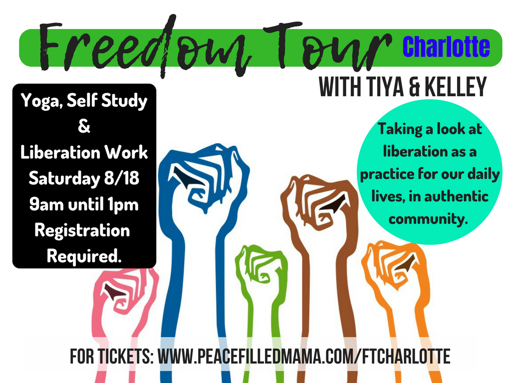 Freedom Tour CHARLOTTE (a Workshop)