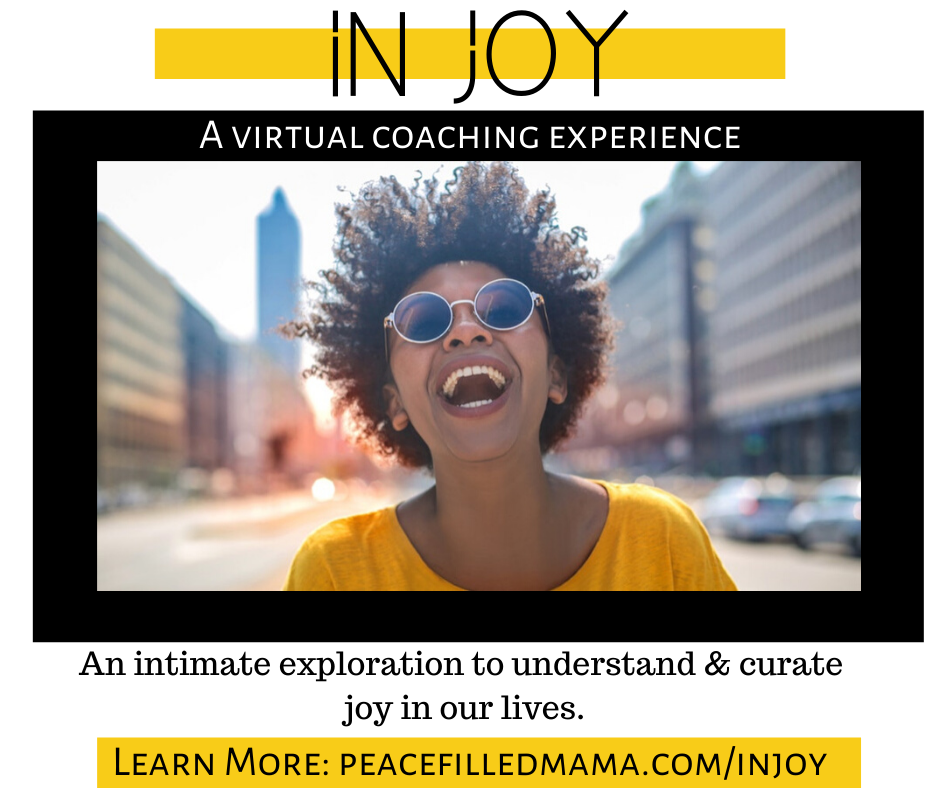 IN JOY: an intimate exploration to understand & curate joy in our lives