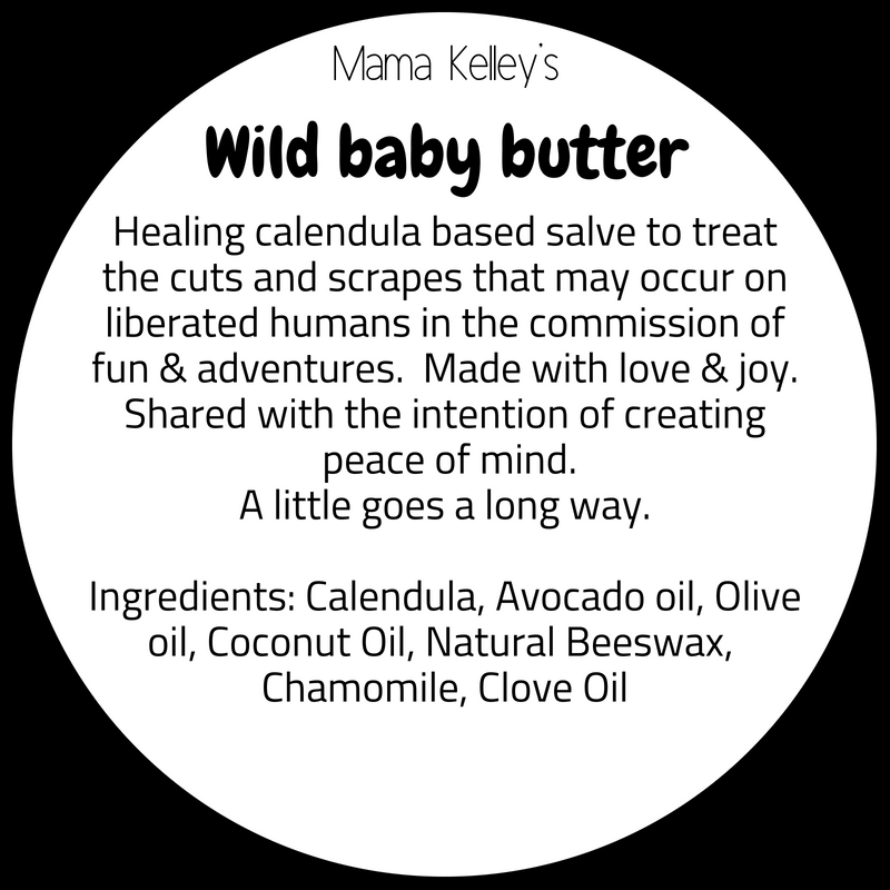 Mama Kelley's Wild Baby Butter