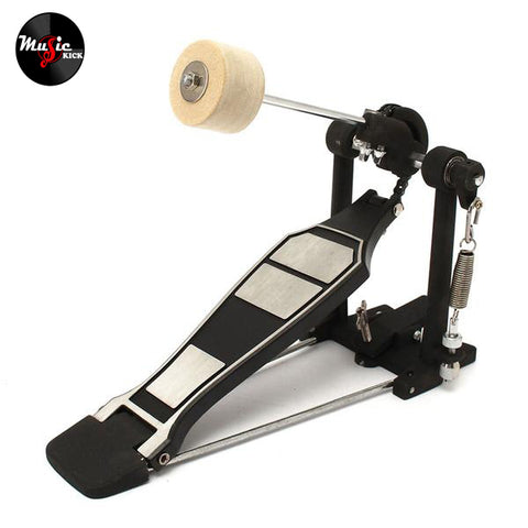 Bass Drum Pedal Tension Spring and Single Chain Drive