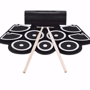 Portable Electronic Roll Up Drum Pad Set