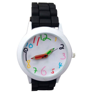 Silicone Watch Woman Fashion Quartz Watch Unisex Boys Children Girl's Beautiful Students All-Match Women Watches Montre Femme