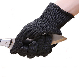 Protective Stainless Steel Wire Butcher Anti-Cutting Gloves