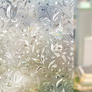 3D Self Adhesive Frosted Stained Sticker