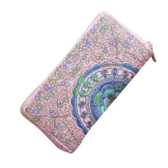 Women Oxford Embroidery wallets