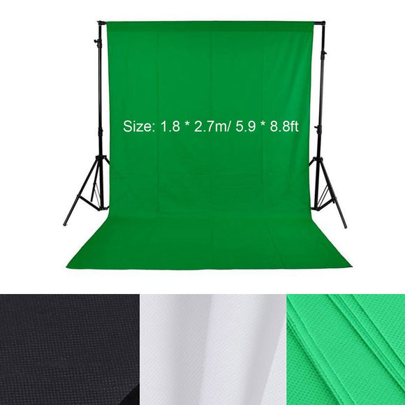 8.8ft Photo Background-Green Screen Photography Background