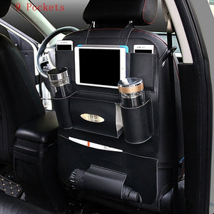 Universal Car Seat Organizer Auto Back Seat Bag Storage Accessories for bmw e46 peugeot 3008 volvo s60 toyota c-hr audi q5 etc.