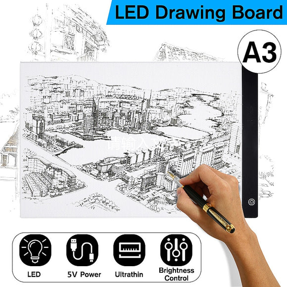Digital Tablets A3 LED Writing Painting Board Pad