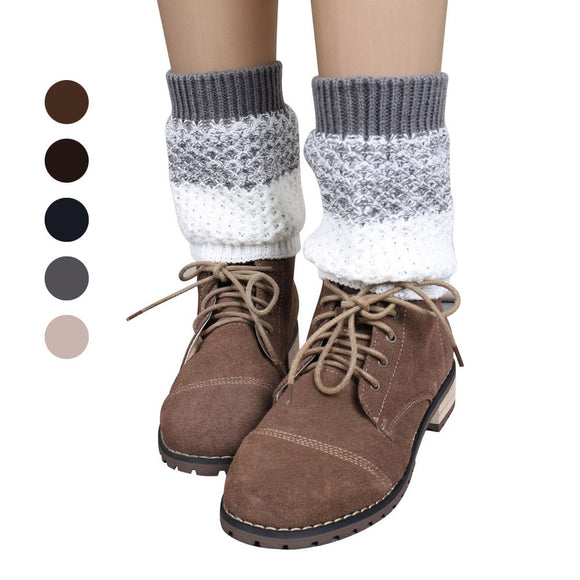 Knitted Leg Warmers Socks