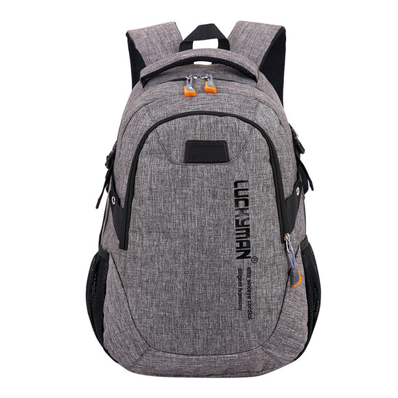 Fashion Causal Waterproof Backpack-Mochila Masculina