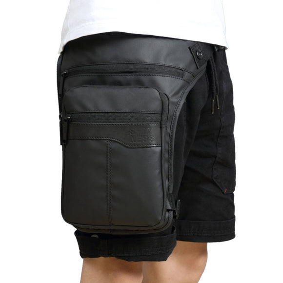 Men Waterproof  Drop Leg Bag Fanny Waist Pack