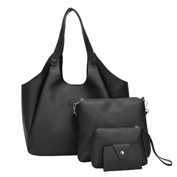 women's Shoulder Tote bag- Four Set