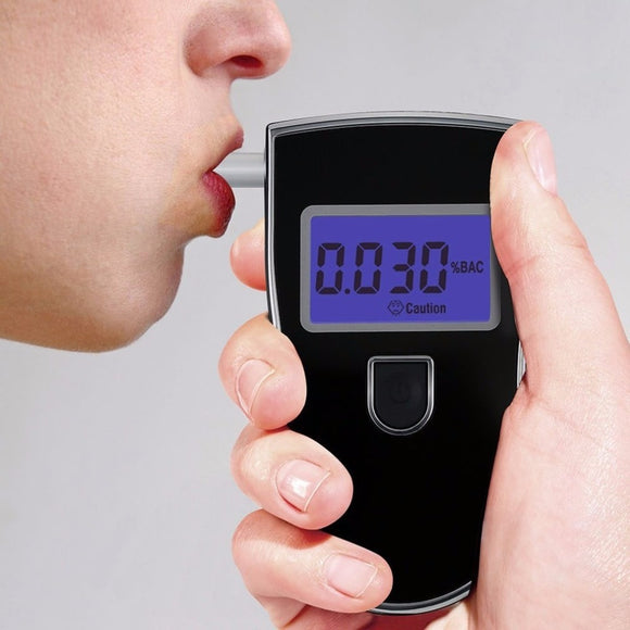 Digital Breathalyzer Alcohol Car Gas Leak Detector