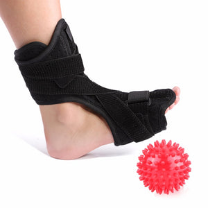 Orthosis Ankle Splint Support + Spiky Massage Ball