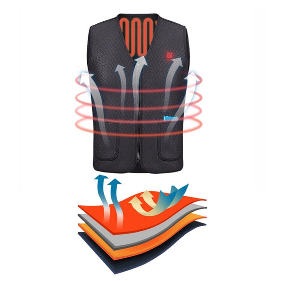 Fishing USB Heated Vest