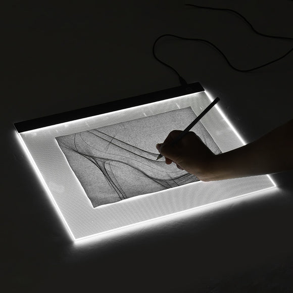Tracing light box - A3 Light Box LED Tracing Light Pad Stepless Dimming Drawing Tablet