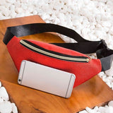 money holder belt waist bag Women men Casual Sports leather Breast Package chest beach fanny pack sac banane