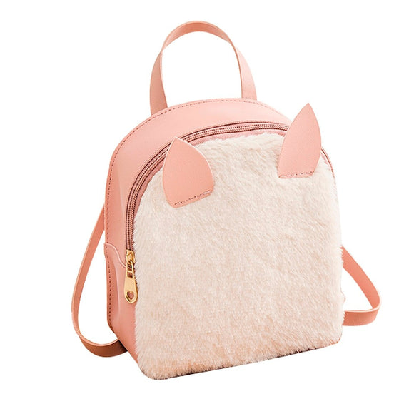Rabbit Hair Horn  Backpack