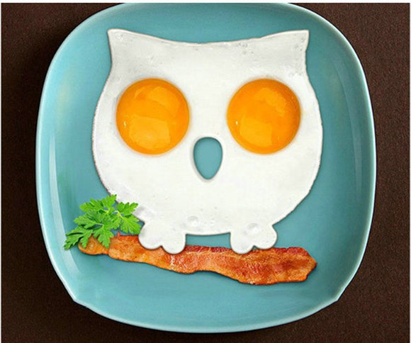 Owl Shaped Fried Eggs Shaper