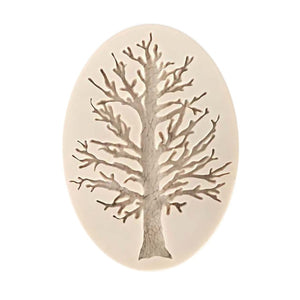 2018 Fashion 3D Tree Silicone Fondant Mold Cake Decorating Chocolate Sugarcraft Baking Mould hot sale