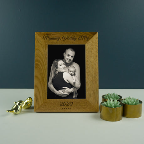 Mummy, Daddy and me photo frame