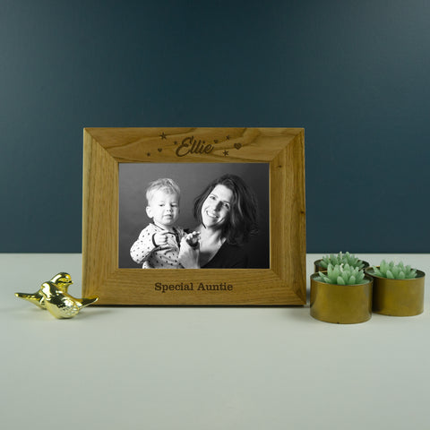 Special auntie photo frame