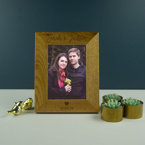 Photo frame for couples