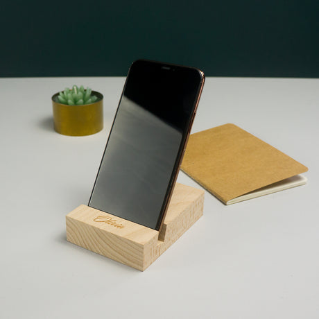 Personalised worker bee phone stand