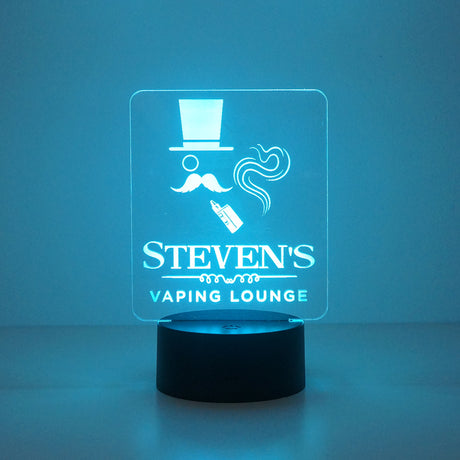 Personalised vaping lounge man cave sign