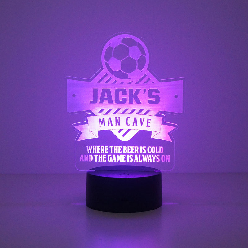 Football multi colour LED sign
