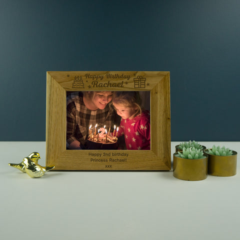 Happy Birthday photo frame