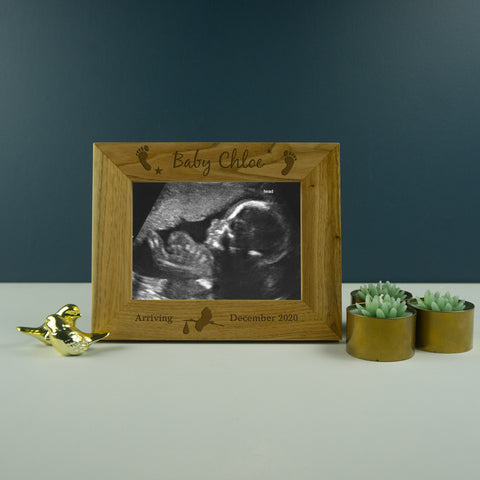 Baby scan photo frame