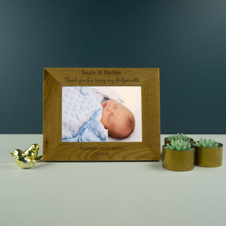 God parents photo frame