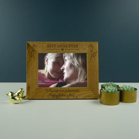 Best Mum ever photo frame