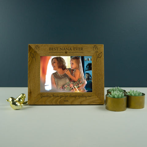 Best Nana ever photo frame