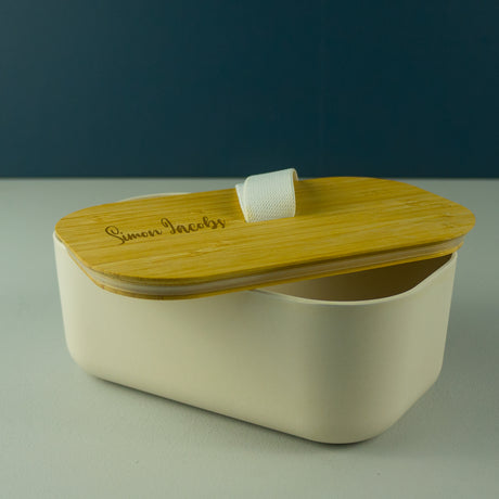 Bamboo reusable lunchbox