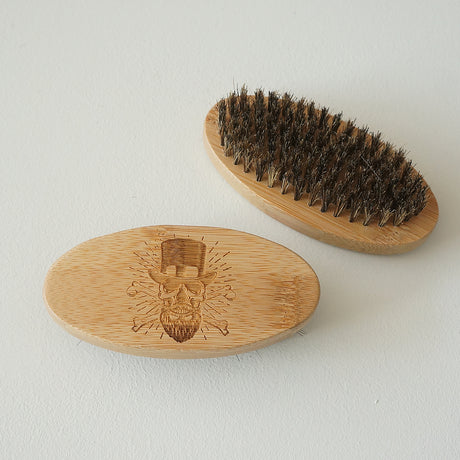 Personalised beard comb and brush