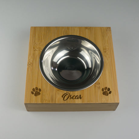Large pet bowl feeder